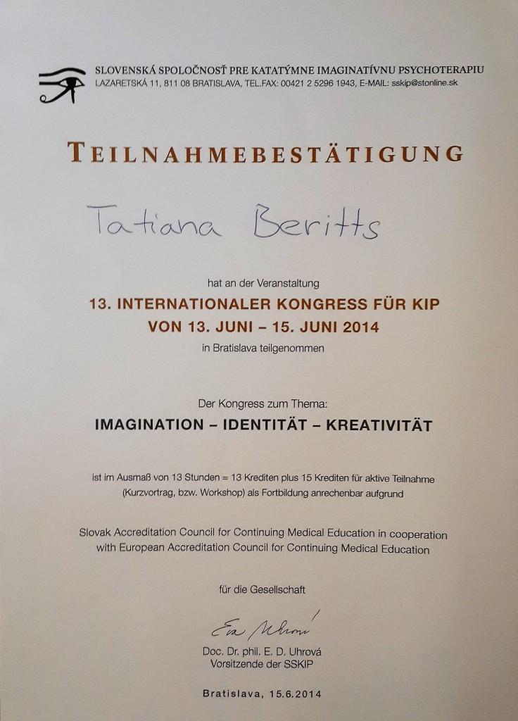 Конференция по символдраме Братислава 2014